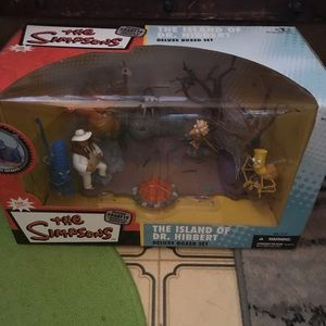 NEW IN BOX The Simpson's figures 2007